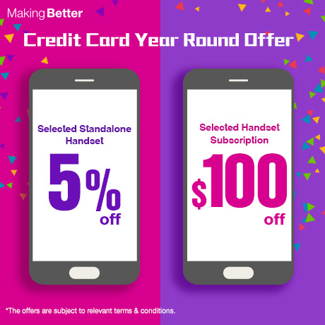 Credit Card Year Round Offer